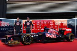 Daniel Ricciardo, Scuderia Toro Rosso ve Jean-Eric Vergne, Scuderia Toro Rosso