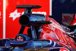 2 hava girişi Toro Rosso STR7