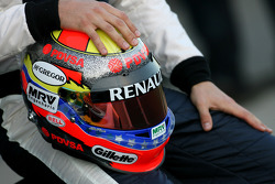 Helm von Pastor Maldonado, Williams F1 Team