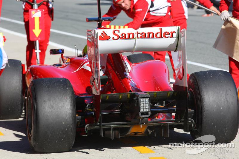 Felipe Massa, Scuderia Ferrari rear wing