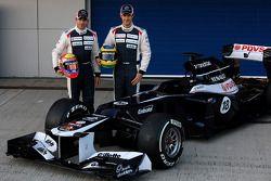 Pastor Maldonado, Williams F1 Team en Bruno Senna, Williams F1 Team