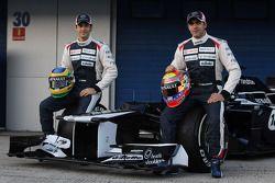 Bruno Senna, Williams F1 Team en Pastor Maldonado, Williams F1 Team