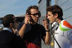 Nicolas Todt, jefe de pilotos con Jean-Eric Vergne, Scuderia Toro Rosso y Jules Bianchi, Sahara Forc