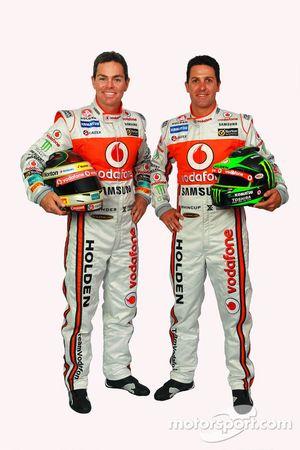 Craig Lowndes et Jamie Whincup