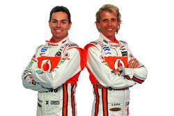 Craig Lowndes and Warren Luff