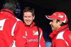 Rob Smedly, Scuderia Ferrari, Chief Engineer of Felipe Massa, Scuderia Ferrari