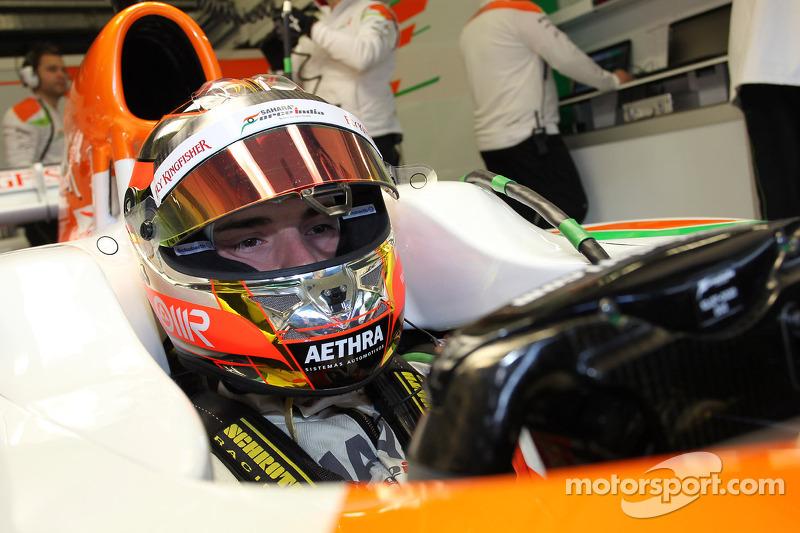 2012 год: запасной в Force India