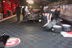 Level 5 Motorsports tent
