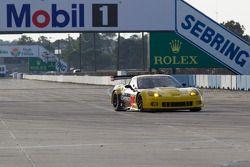 #70 Larbre Competition Chevrolet Corvette C6R: Christophe Bourret, Pascal Gibson