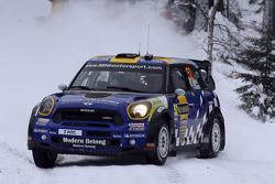 Patrik Sandell and Staffan Parmander, Mini John Cooper Works WRC, MINI WRC TEAM