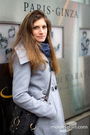 Cyndie Allemann in Tokyo