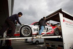 The Hitotsuyama Racing Audi R8 LMS Super GT car