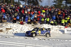 Patrik Sandell and Staffan Parmander, Mini John Cooper Works WRC, MINI WRC TEAM