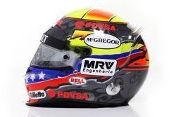 Pastor Maldonado, Williams F1 Team helmet