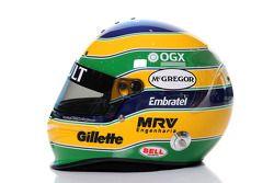 Helm von Bruno Senna, Williams F1 Team