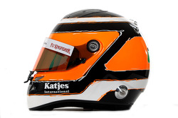 Nico Hulkenberg, Sahara Force India Formula 1 Team, kask