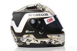 Giedo van der Garde, Caterham F1 Team test Driver helmet