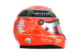 Casco de Michael Schumacher, Mercedes GP Petronas F1 Team