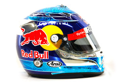 Sebastian Vettel, Red Bull Racing, kask