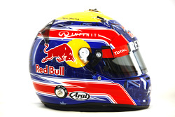 Mark Webber, Red Bull Racing, kask