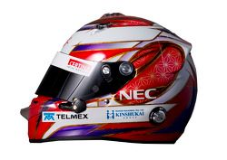 Kamui Kobayashi, Sauber F1 Team helm