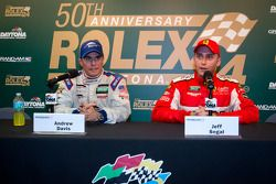 Press conference: GT pole winner Andrew Davis, Jeff Segal