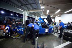 Spirit of Daytona team members at work