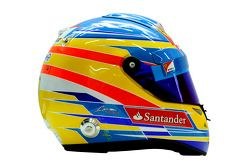 Casque de Fernando Alonso, Scuderia Ferrari