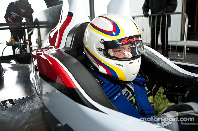 Элтон Джулиан. Обкатка Zytek Z11SN команды Greaves Motorsport, тестовый СУ.
