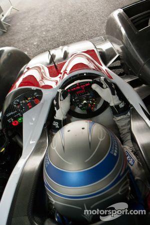 Рикардо Гонсалес. Обкатка Zytek Z11SN команды Greaves Motorsport, тестовый СУ.