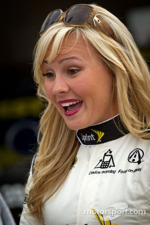 Une charmante Miss Sprint Cup