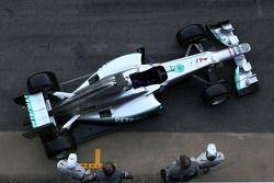 Презентация Mercedes GP W03, Презентация.