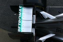 Mercedes F1 W03: Heckflügel