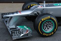 Mercedes F1 W03: Frontpartie