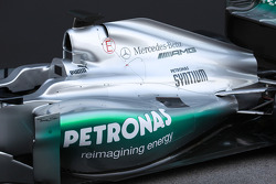 Mercedes F1 W03: Motorhaube