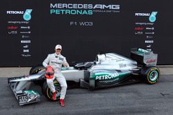 Michael Schumacher, Mercedes GP, mit dem Mercedes F1 W03
