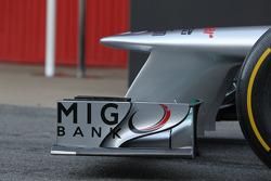 Mercedes F1 W03: Frontflügel