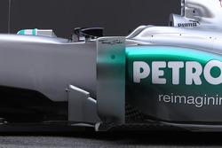Mercedes F1 W03: Seitenkasten
