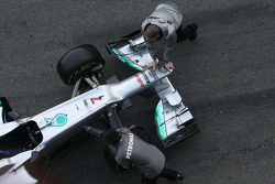 Mechaniker von Mercedes GP