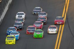 Frank Kimmel leads a group of cars