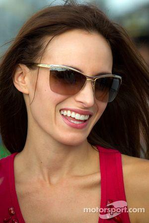 Samantha Sarcinella, vrouw van Kyle Busch, Joe Gibbs Racing Toyota