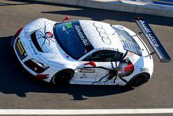 #2 Team Phoenix Racing Audi R8 LMS: Mark Eddy, Craig Lowndes, Warren Luff