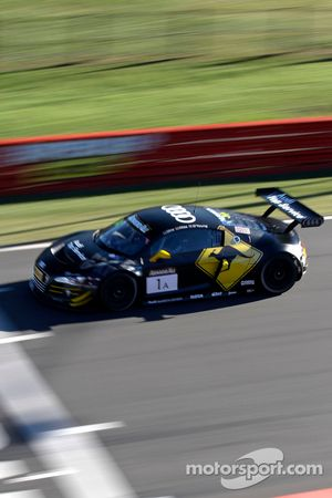 #1 Team Phoenix Racing Audi R8 LMS: Christopher Mies, Darryl O'Young, Christer Jöns