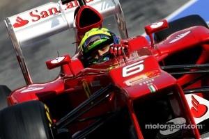 Ferrari's stepped nose