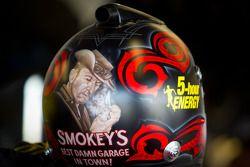 Helmet of Clint Bowyer, Michael Waltrip Racing Toyota