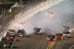 Brad Keselowski, Brad Keselowski Racing Dodge crashes
