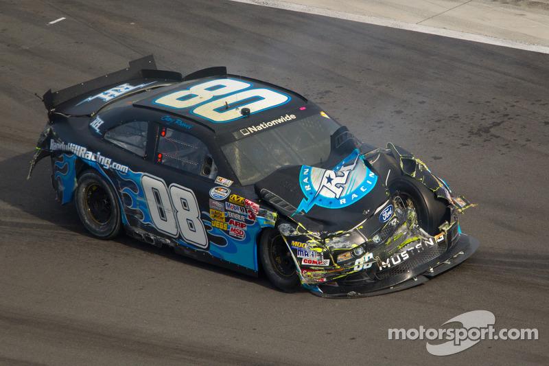 Casey Roderick, Randy Hill Racing Ford crash