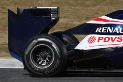 Williams F1 Team achtervleugel