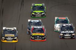 Ryan Truex, Tommy Baldwin Racing Toyota, Michael Annett, Richard Petty Motorsports Ford, Austin Dillon, Richard Childress Racing Chevrolet