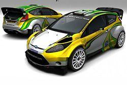 Ford Fiesta WRC van Daniel Oliveira